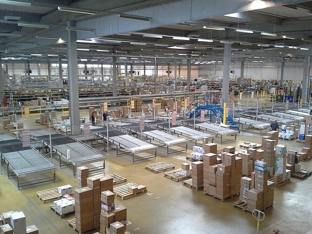 Warehouse lighting sustainability